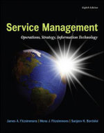 MP Service Management with Service Model Software Access Card : Operations, Strategy, Information Technology - James Fitzsimmons