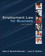 Employment Law for Business - Dawn D. Bennett-Alexander