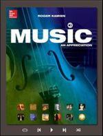 Music : An Appreciation - Roger Kamien