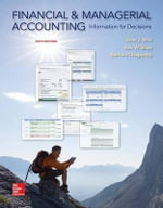 Financial and Managerial Accounting : Information for Decisions - John Wild