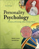 Personality Psychology : Domains of Knowledge About Human Nature - Randy J. Larsen