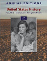 Annual Editions : United States History: Reconstruction Through the Present v. 2 - Robert James Maddox