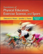 Foundations of Physical Education, Exercise Science, and Sport - Deborah A. Wuest