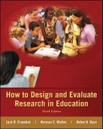 How to Design and Evaluate Research in Education - Jack R. Fraenkel