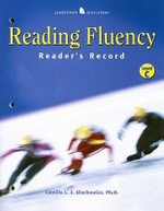 Reading Fluency : Reader,Record Level C - Camille Blachowicz