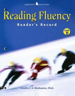 Reading Fluency : Reader's,Record Level D - Camille Blachowicz