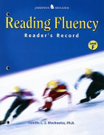 Reading Fluency : Reader's Record F - Camille Blachowicz