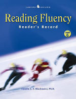 Reading Fluency : Reader's Record G - Camille Blachowicz