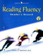 Reading Fluency : Reader's Record H - Camille Blachowicz
