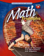Math Triumphs, Grade 7 Book 3 : Number and Operations and Algebra - Frances Basich Whitney