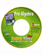 Pre-Algebra, Studentworks Plus CD-ROM - McGraw-Hill