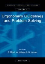 Ergonomics Guidelines and Problem Solving : 3rd International Conference : Selected Papers III