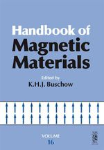 Handbook of Magnetic Materials : Volume 16