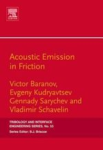Acoustic Emission in Friction - Victor M. Baranov