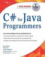 C# For Java Programmers - Harold Cabrera