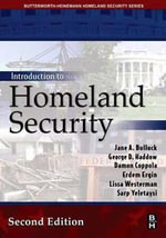 Introduction to Homeland Security - Jane Bullock