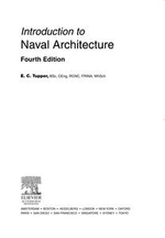 Introduction to Naval Architecture : Formerly Muckle's Naval Architecture for Marine Engineers - E. C. Tupper