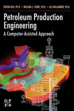 Petroleum Production Engineering, A Computer-Assisted Approach : A Computer-Assisted Approach - PhD, Boyun Guo
