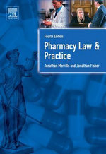 Pharmacy Law and Practice : Fourth Edition - Jon Merrills