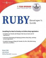 Ruby Developers Guide : developer's guide - Syngress