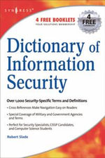 Dictionary of Information Security - Robert Slade