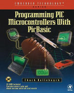Programming PIC Microcontrollers with PICBASIC - Chuck Hellebuyck