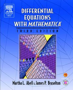 Differential Equations with Mathematica - Martha L. Abell