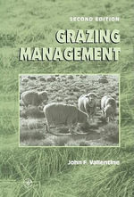 Grazing Management - John F. Vallentine