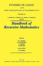 Recursive Model Theory : Recursive model theory - UNKNOWN AUTHOR