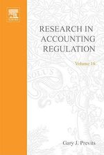 Research in Accounting Regulation