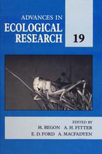 Advances in Ecological Research : Volume 19 - UNKNOWN AUTHOR