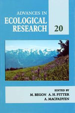 Advances in Ecological Research : Volume 20 - UNKNOWN AUTHOR