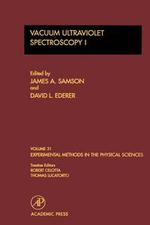 Vacuum Ultraviolet Spectroscopy I