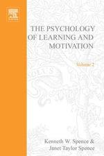 PSYCHOLOGY OF LEARNING&MOTIVATION : V.2: V.2