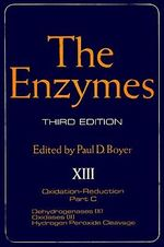 The Enzymes : Dehydrogenases (II), oxidases (II), hydrogen peroxide cleavage - Unknown