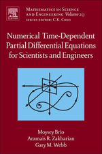 Numerical  Time-Dependent Partial Differential Equations  for Scientists and Engineers - Moysey Brio