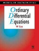 Ordinary Differential Equations - William Cox