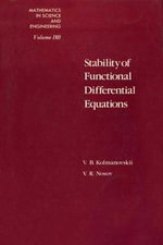 Stability of Functional Differential Equations - Gerard Meurant