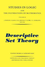 Descriptive Set Theory - Y.N. Moschovakis
