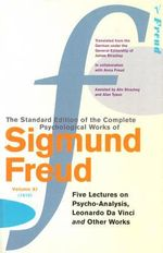 Complete Psychological Works of Sigmund Freud : Volume 11 - Sigmund Freud