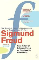 Complete Psychological Works of Sigmund Freud : Volume 12 - Sigmund Freud