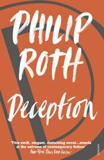 Deception - Philip Roth