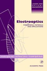 Electrooptics : Phenomena, Materials and Applications - Jose Manuel Cabrera