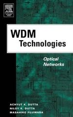 WDM Technologies: v. 2 : Optical Networks