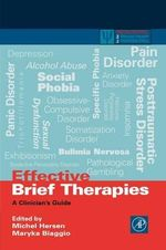 Effective Brief Therapies : A Clinician's Guide