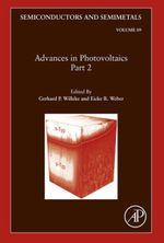 Advances in Photovoltaics : Part 2