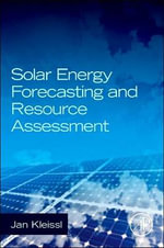 Solar Energy Forecasting and Resource Assessment - Jan Kleissl
