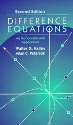 Difference Equations : An Introduction with Applications - Walter G. Kelley