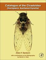 Catalogue of the Cicadoidea (Hemiptera : Auchenorrhyncha) - Allen F. Sanborn