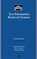 Text Information Retrieval Systems - Charles T. Meadow